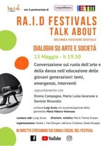RaID Festival - Arte e danza per l'educazione degli adolescenti